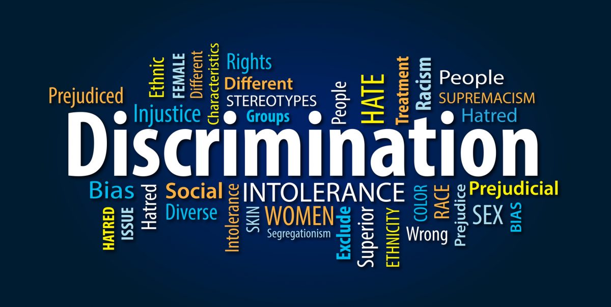 Discrimination word cloud from Park Ridge discrimination attorney