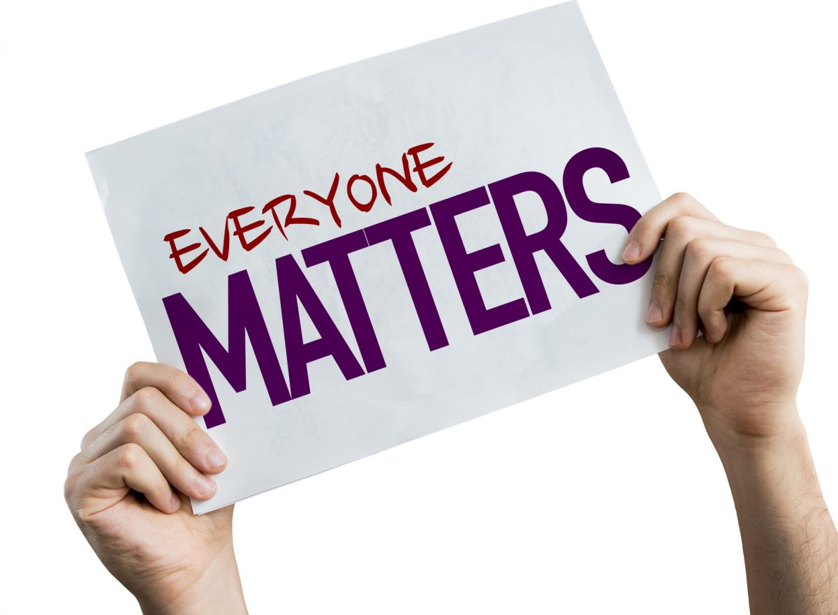 Everyone Matters placard particularly at the workplace so if you need a skilled employment attorney find a top one in Chicago.