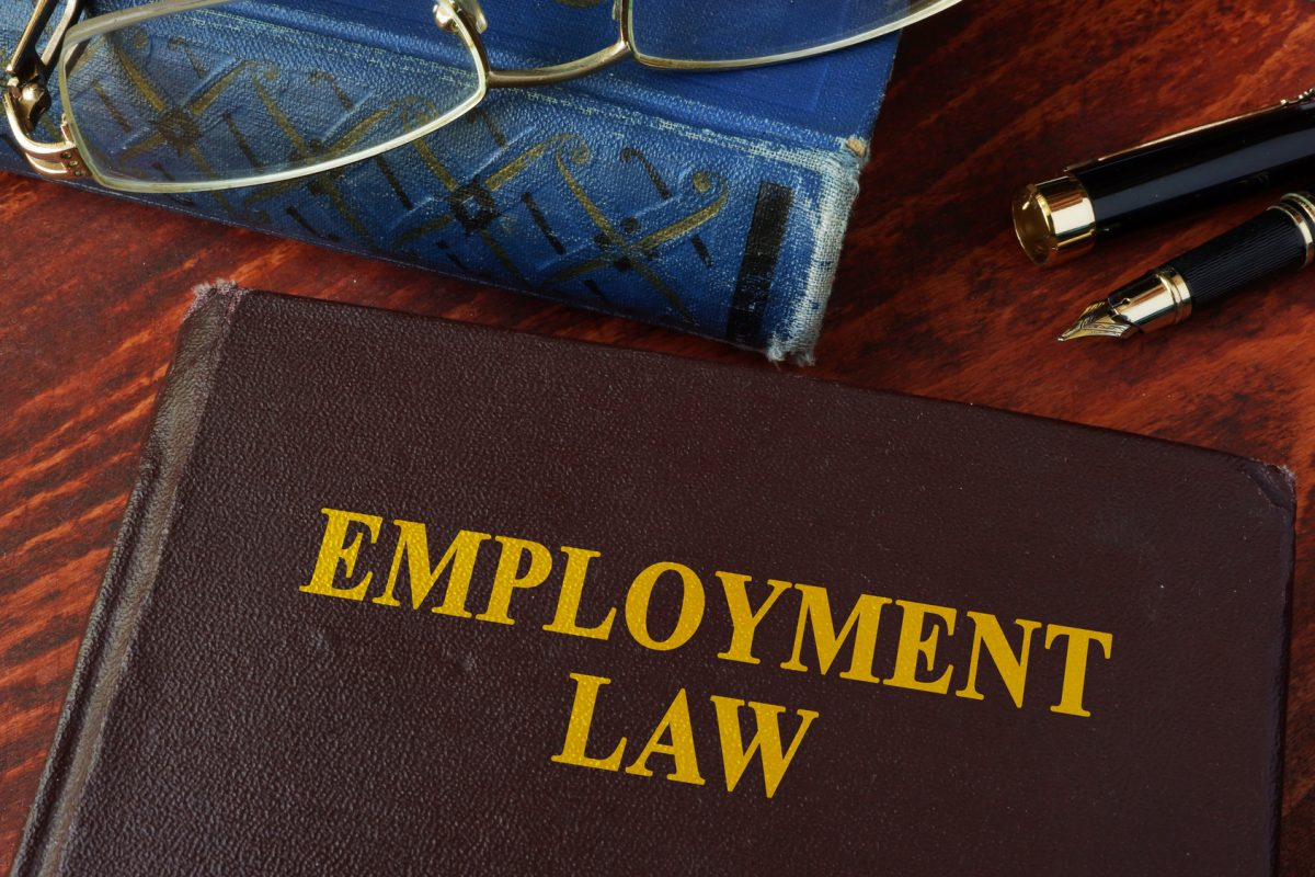 An employment law book and if you need a top employment law attorney in Chicago look here.