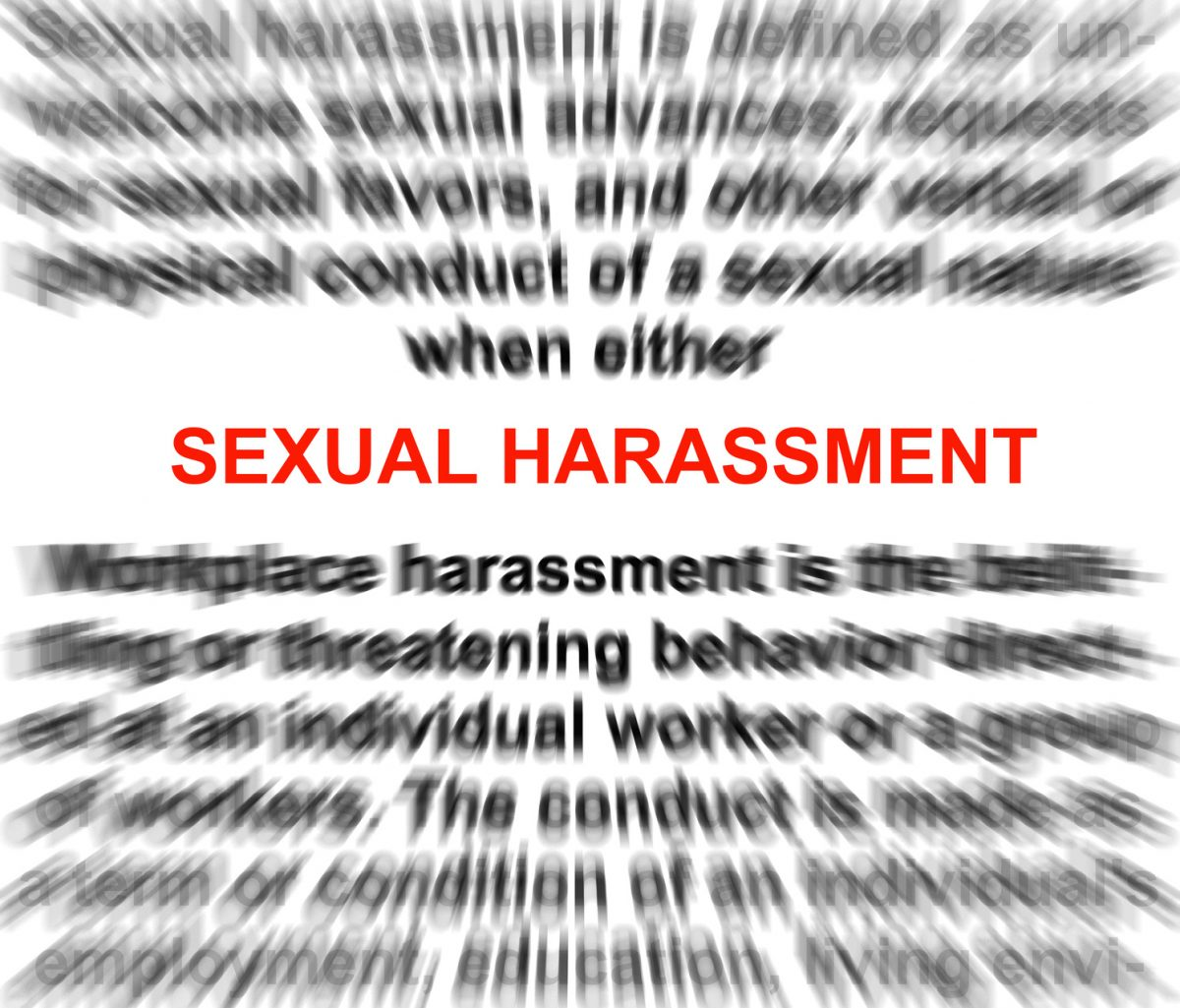Sexual harassment with a blurry word definition and if you need a lawyer who handles this type of case find him in Chicago.