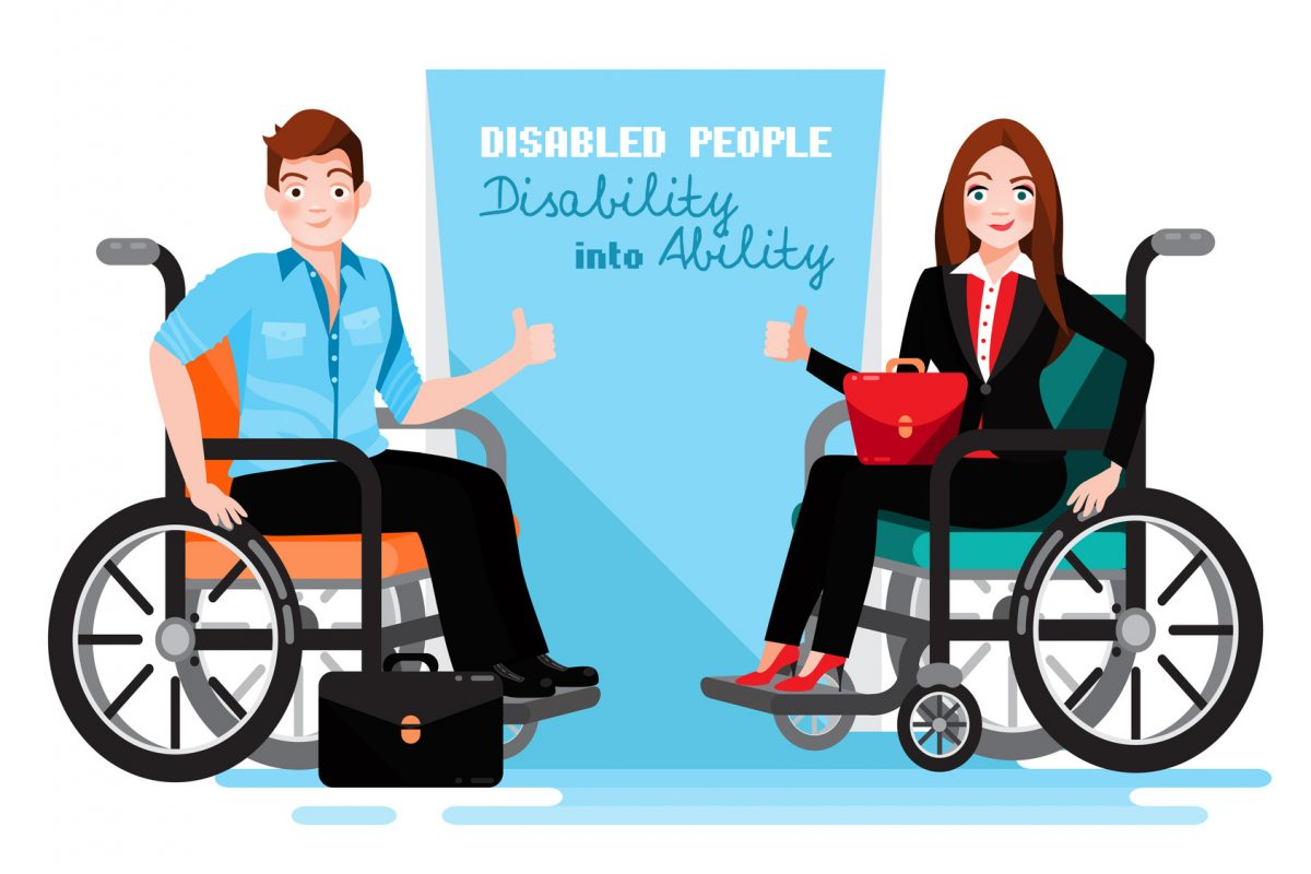 Disabled people at work and if you need a top employment discrimination attorney find one in Chicago Loop.