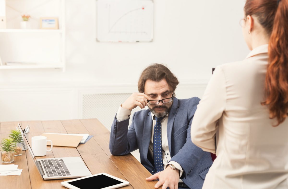 dealing with unwanted looks and touches from your boss is when you need to speak with a sexual harassment lawyer in Chicago.