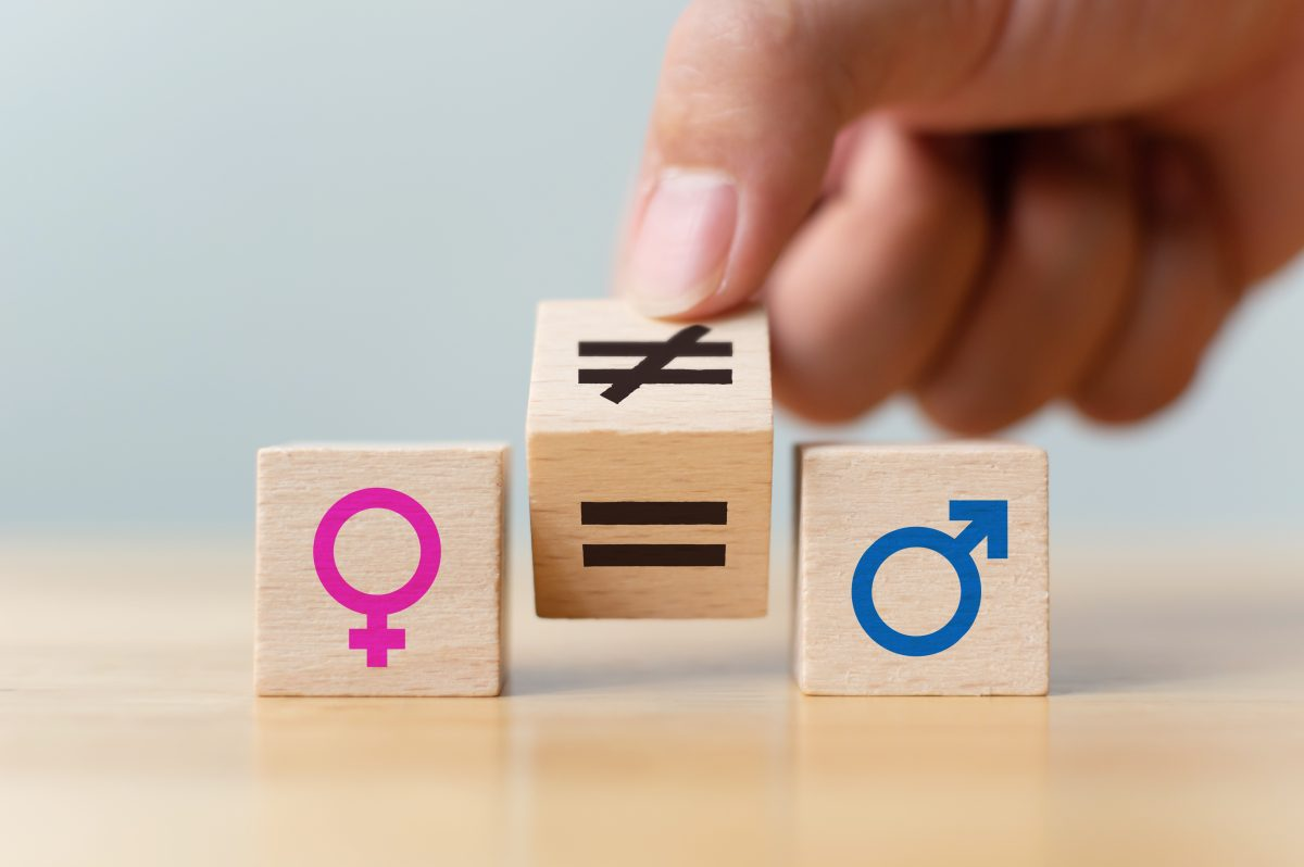 Wooden blocks with gender symbols on them representing how a skilled Chicago employment lawyer may be able to assist you with your case.